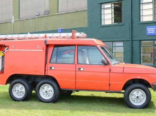 TACR2a (Truck Aircraft Crash Rescue) Mk 2a
