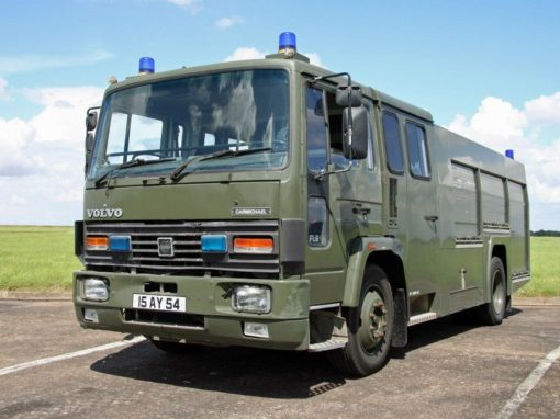 VOLVO ARMAMENTS SUPPORT VEHICLE