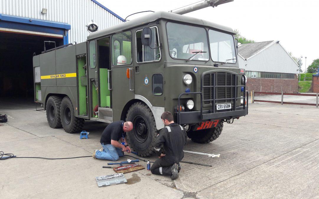 Mk 9 Brake check